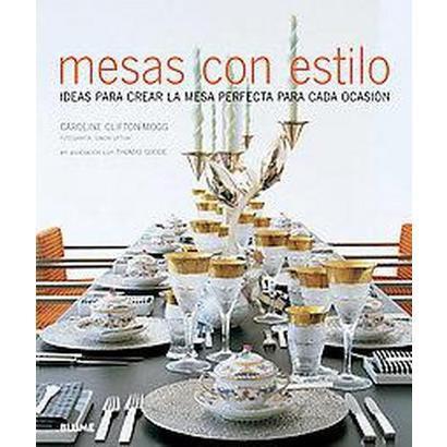 Mesas con estilo set with style hardcover target - Mesas con estilo ...