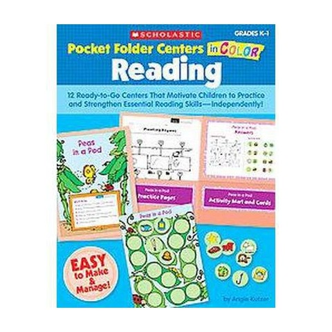 Pocket-Folder Centers in Color Reading (Paperback)