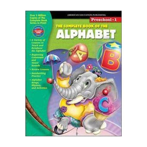 The Complete Book Of The Alphabet (Workbook) (Paperback)