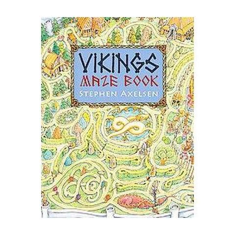 Vikings Maze Book (Paperback)