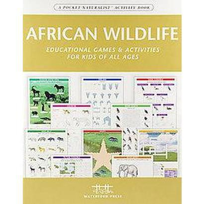 African Wildlife Nature Activity Book (Paperback)