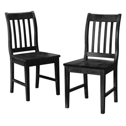 Winfield Dining Chair - Black (Set of 2)