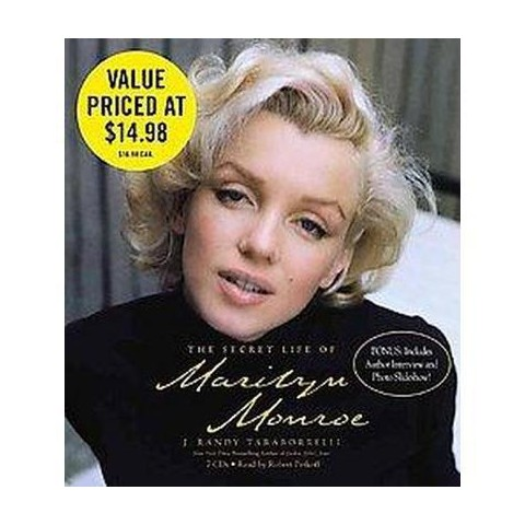 The Secret Life of Marilyn Monroe (Abridged) (Compact Disc)