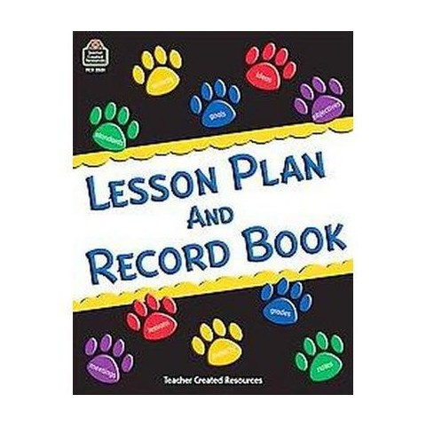 Lesson Plan and Record Book (Paperback)