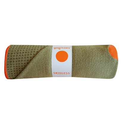 yogitoes Skidless Yoga Towel - Moss
