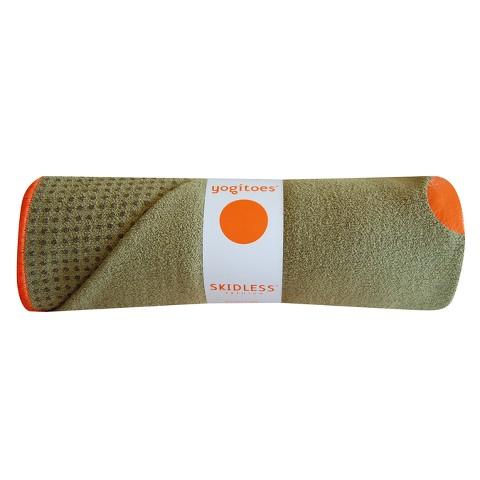 yogitoes Skidless Yoga Towel - Moss