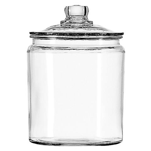 Glass jar for sauerkraut