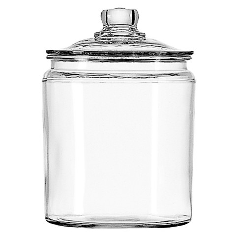 Glass jar for sauerkraut