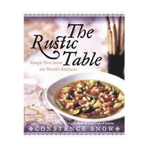 The Rustic Table (Hardcover)