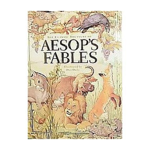 The Classic Treasury of Aesop's Fables (Hardcover)