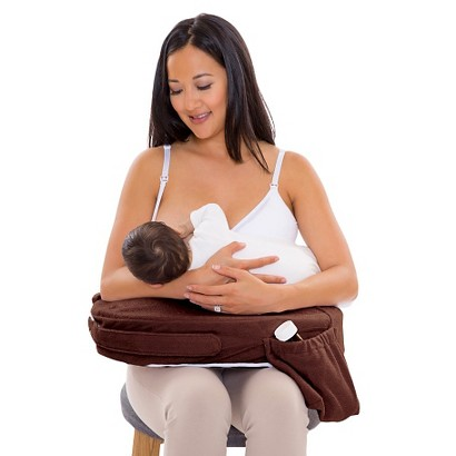 My BrestFriend Deluxe Nursing Pillow - Chocolate