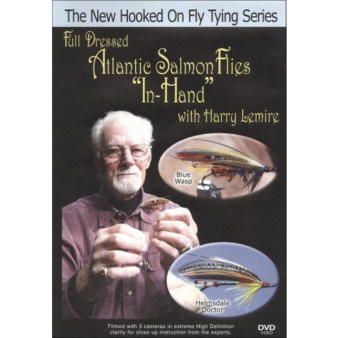 "Full Dressed Atlantic Salmon Flies ""In Hand"" with Harry Lemire"
