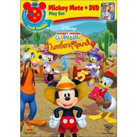 Mickey Mouse Clubhouse: Mickey's Numbers Roundup (With Mickey Mote)