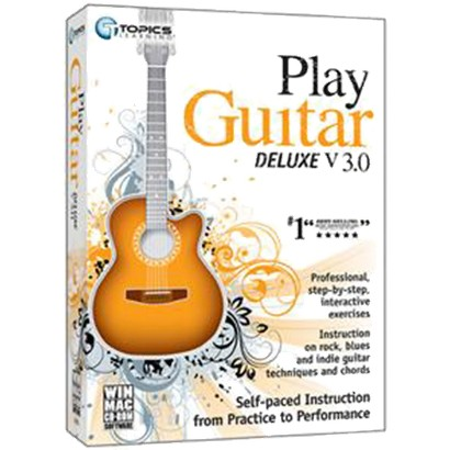 Instant Play Guitar Deluxe V3 PC CD