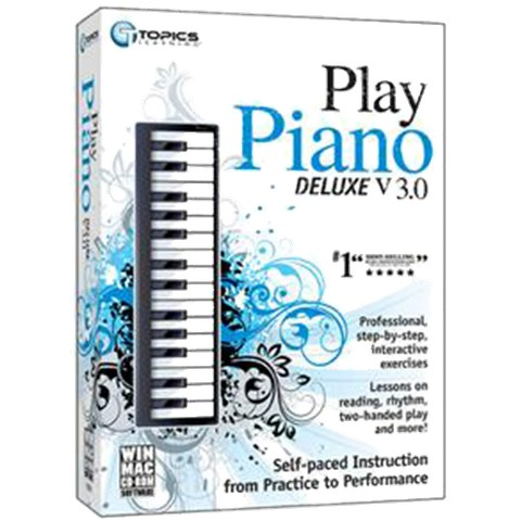 Instant Play Piano Deluxe V3 For PC/Mac