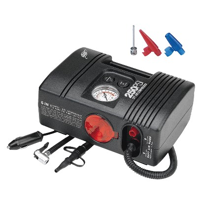 Lifeline PSI 6-IN-1 Air Compressor - Black