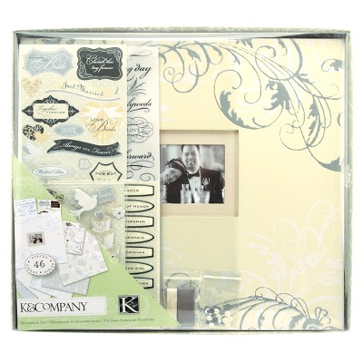 ECOM K&Company Postbound Scrapbook Kit Boxed - 12 X12