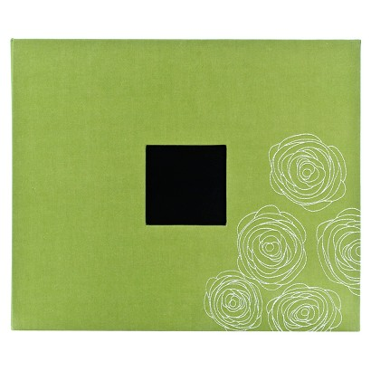 """American Crafts Faux Leather 3-Ring Album - 12""""X12"""""""