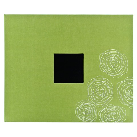 "American Crafts Faux Leather 3-Ring Album - 12""X12"""