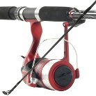 Trademark Global South Bend Competitor Spinning Combo Rod and Reel - Red