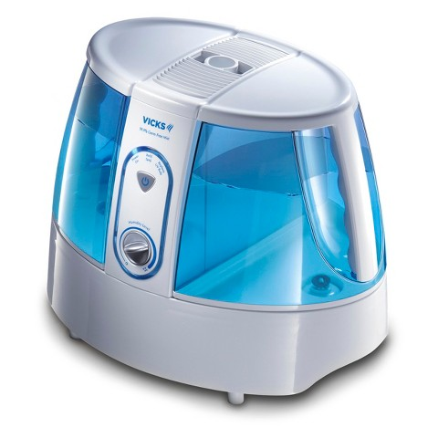Vicks Germ Free Humidifier - White and Blue
