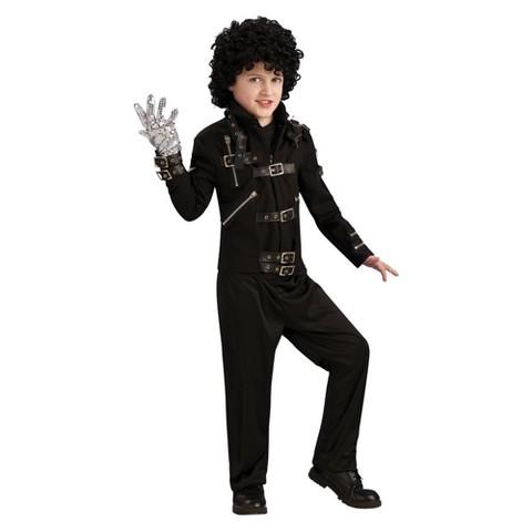 Boy's Michael Jackson Bad Buckle Deluxe Jacket