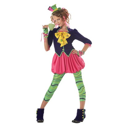 Girl's The Mad Hatter Costume