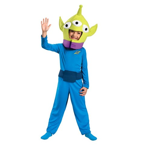 Toddler/Boy's Toy Story Alien Classic Costume