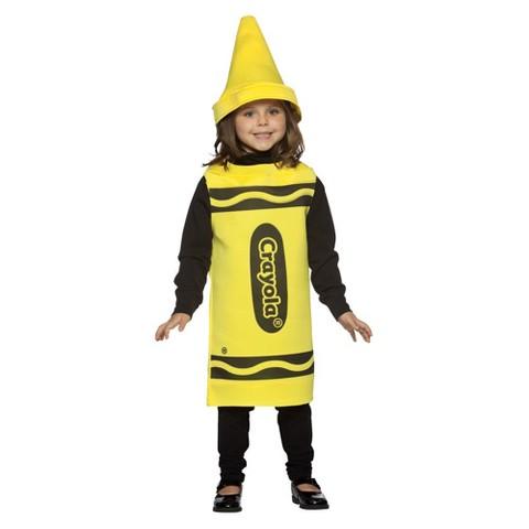 Kids' Crayola Crayon Costume - Yellow