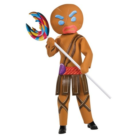 Boy's Shrek the Fourth Gingerbread Warrior Costume