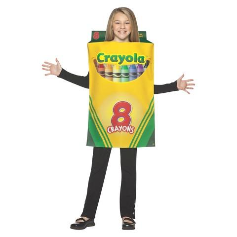 Kid's Crayola Crayon Box Costume - Medium (7-10)