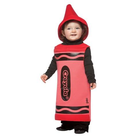 Crayola Crayon Toddler Costume Red