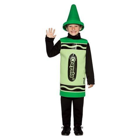 Kids' Crayola Crayon Costume - Green