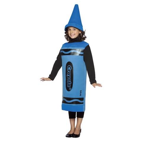 Kids' Crayola Crayon Costume - Blue