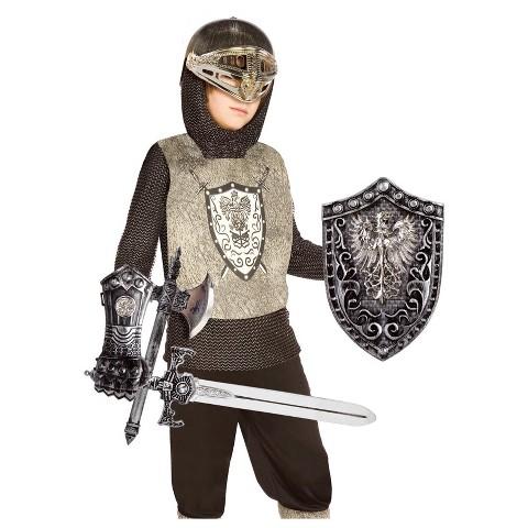Boy's Knight Costume Kit - One Size (Fits Sizes 4-8)