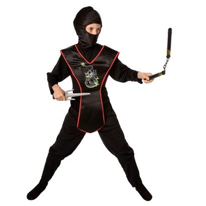 Boy's Ninja Costume Kit - One Size (4-8)
