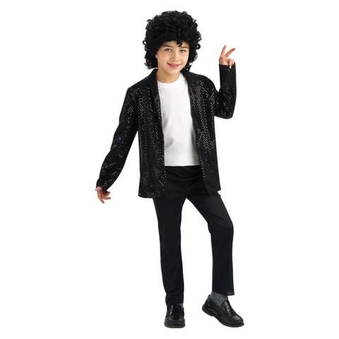 Michael Jackson Boys' Billie Jean Deluxe Jacket