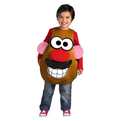 Toddler/Kid's Mr. Potato Head Deluxe Costume
