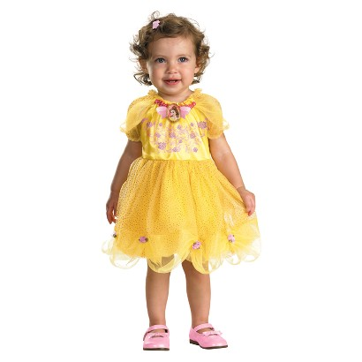 Infant Girl Beauty and the Beast Belle Costume 12-18 Months