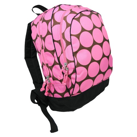 Wildkin Big Dots Backpack - Pink