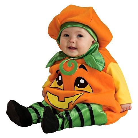 Girly Pumpkin Costume Infant Pumpkin Jumper Costume