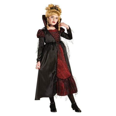 Girls' Transylvanian Vampiress Costume