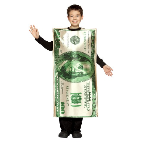 Kids' $100 Bill Costume
