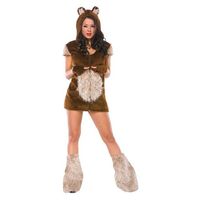 Women's Teddy Bear Girl Costume