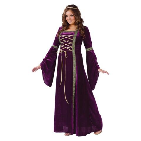 Women's Renaissance Lady Costume Plus Size(16W-24W)