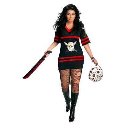 Friday The 13th - Sassy Miss Voorhees Plus Adult Costume - One-Size (Plus)