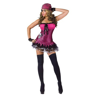 Women's Rockin' Skull Pirate Costume