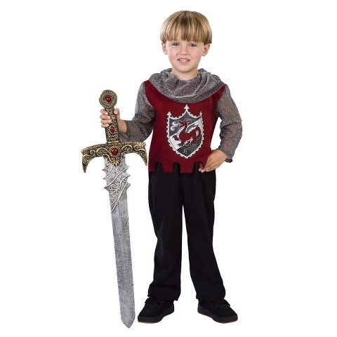 Scarlet Knight Toddler Costume - 2T-4T