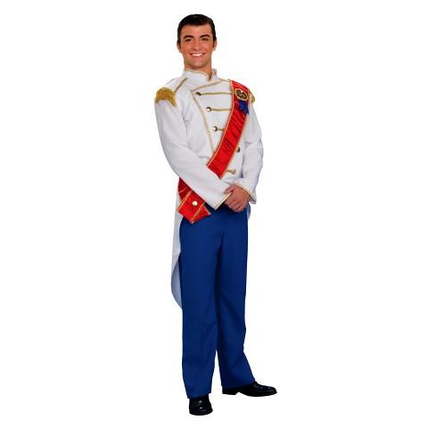 Men's Charming Prince Costume OSFM