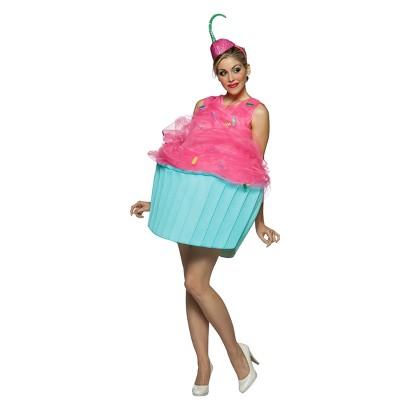 Women's Sweet Eats Cupcake Costume - One Size (4-10)